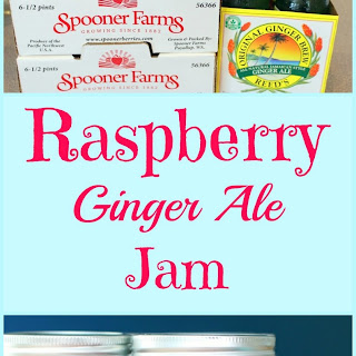 Raspberry Ginger Ale Jam.