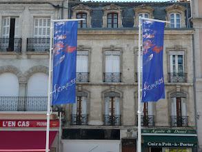 Photo: flagi Festiwalu Arte Flamenco