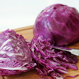 German Style Cabbage with Bacon Ends.