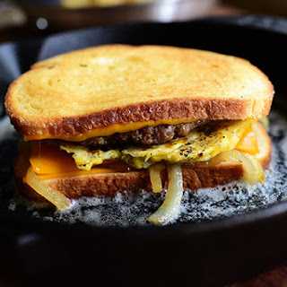 Breakfast Patty Melt