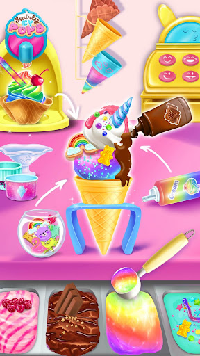 Swirly Icy Pops - Surprise DIY Ice Cream Shop 3.0.20 screenshots 2