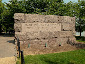 Photo: Entrance of the Franklin D. Roosevelt Memorial.
