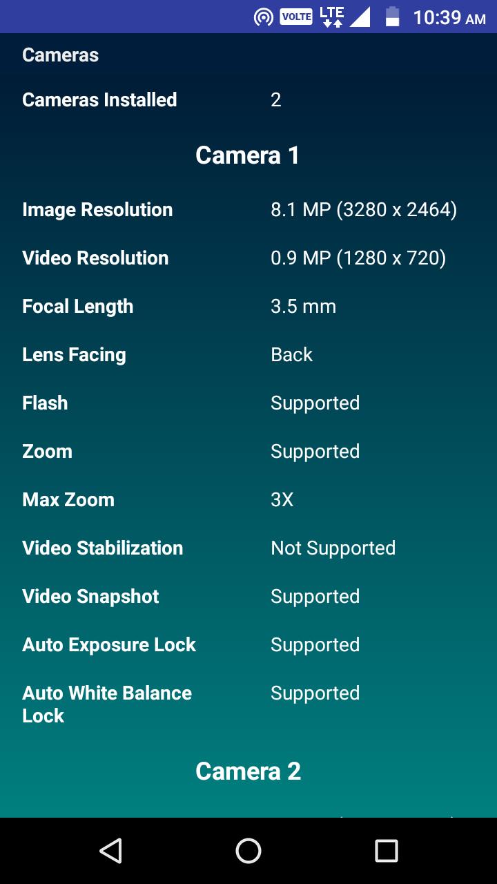 CPU Identifier Screenshot 3