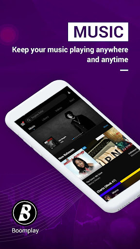 Boomplay play music, download songs & watch videos 5.1.2 screenshots 1