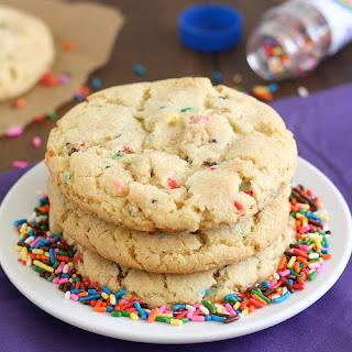 Birthday Cake Confetti Cookies.