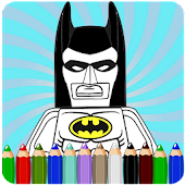 How To Color Lego Batman Hero