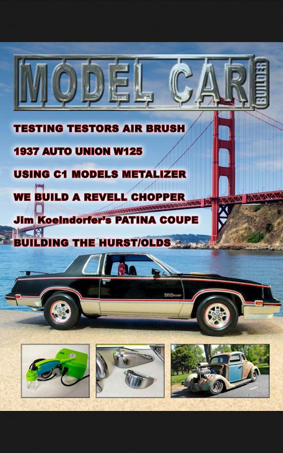 model car builder screenshot