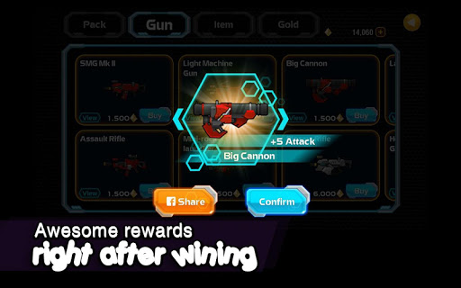 Galaxy Gunner: The last man standing game 1.6.3 screenshots 4