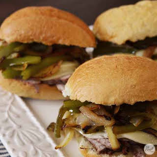 Budget-friendly Philly Cheesesteaks.