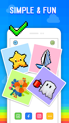 Pixel Art - Color by Number 1.3.15 screenshots 5