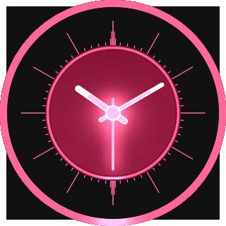 Analog Glow Watch Face
