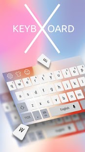 Keyboard Theme for Phone X - náhled