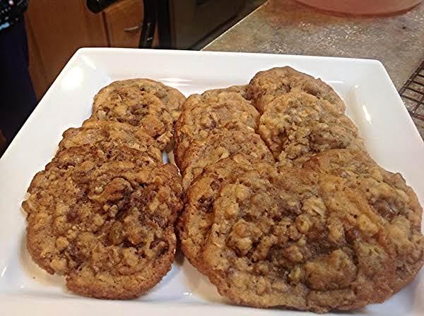 Kitchen Sink Oatmeal Raisin Cookies