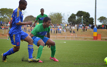Photo: Mike Lahoud [Leone Stars v Swaziland 18 May 2014 (Pic: Darren McKinstry)]