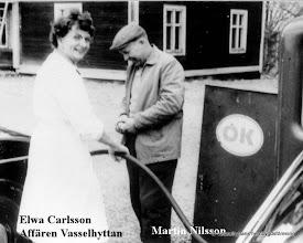 Photo: Affären 1955 Elwa Carlsson och Martin Nilsson