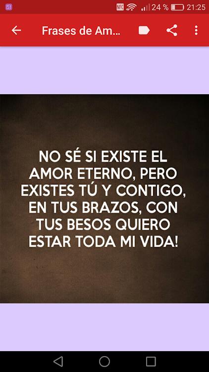 Frases De Amor Eterno Amor Por Siempre Android