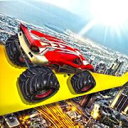 الوحش شاحنة لعبة حيلة بالسلاسل السيارات سباق محرك