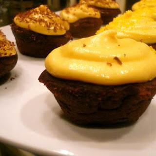 Mini Choco-Pumpkin Cupcakes (W/homemade Buttermilk!)