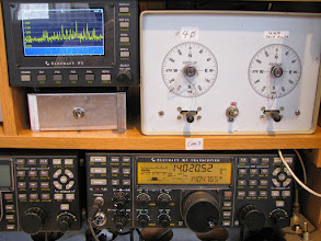 Photo: Andy K1RA on 20m CW