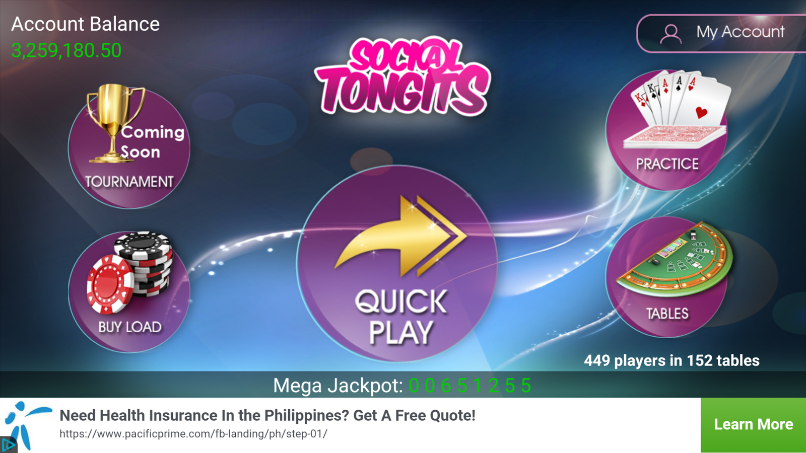 Social Tongits- screenshot