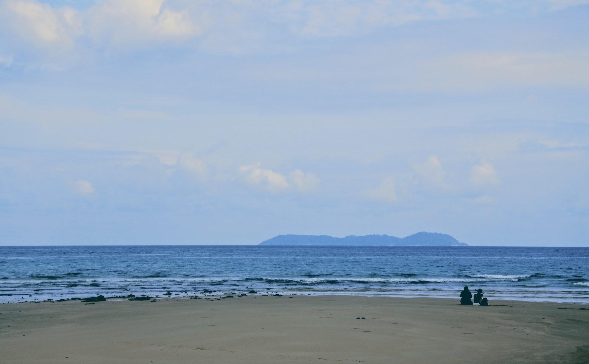 The sandbank