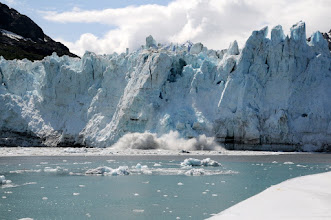 Photo: Margerie glacier calving (see album with full sequence of this event)