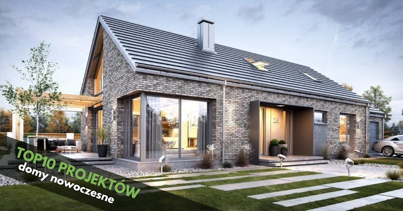 TOP 10 Najlepsze projekty domów nowoczesnych