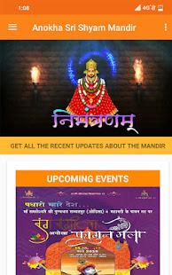 Download Anokha Sri Shyam Mandir For PC Windows and Mac apk screenshot 1
