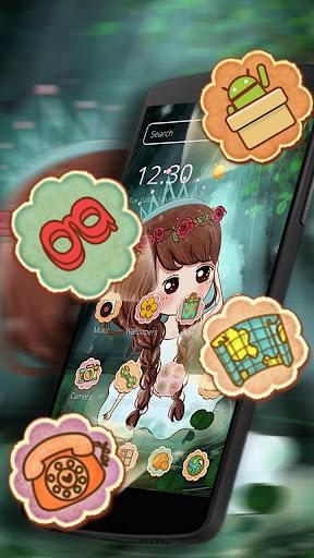 Princess Cute Theme HD 1.1.5 screenshots 3
