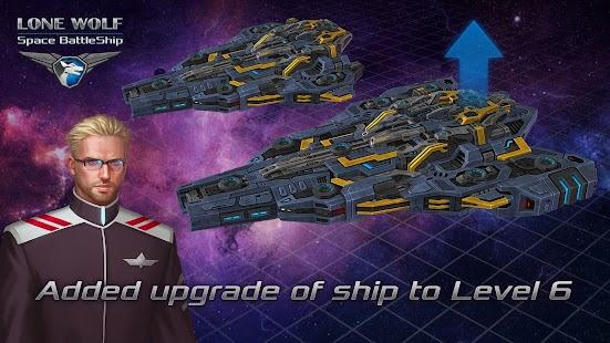 Battleship Lonewolf - Space TD Screenshot