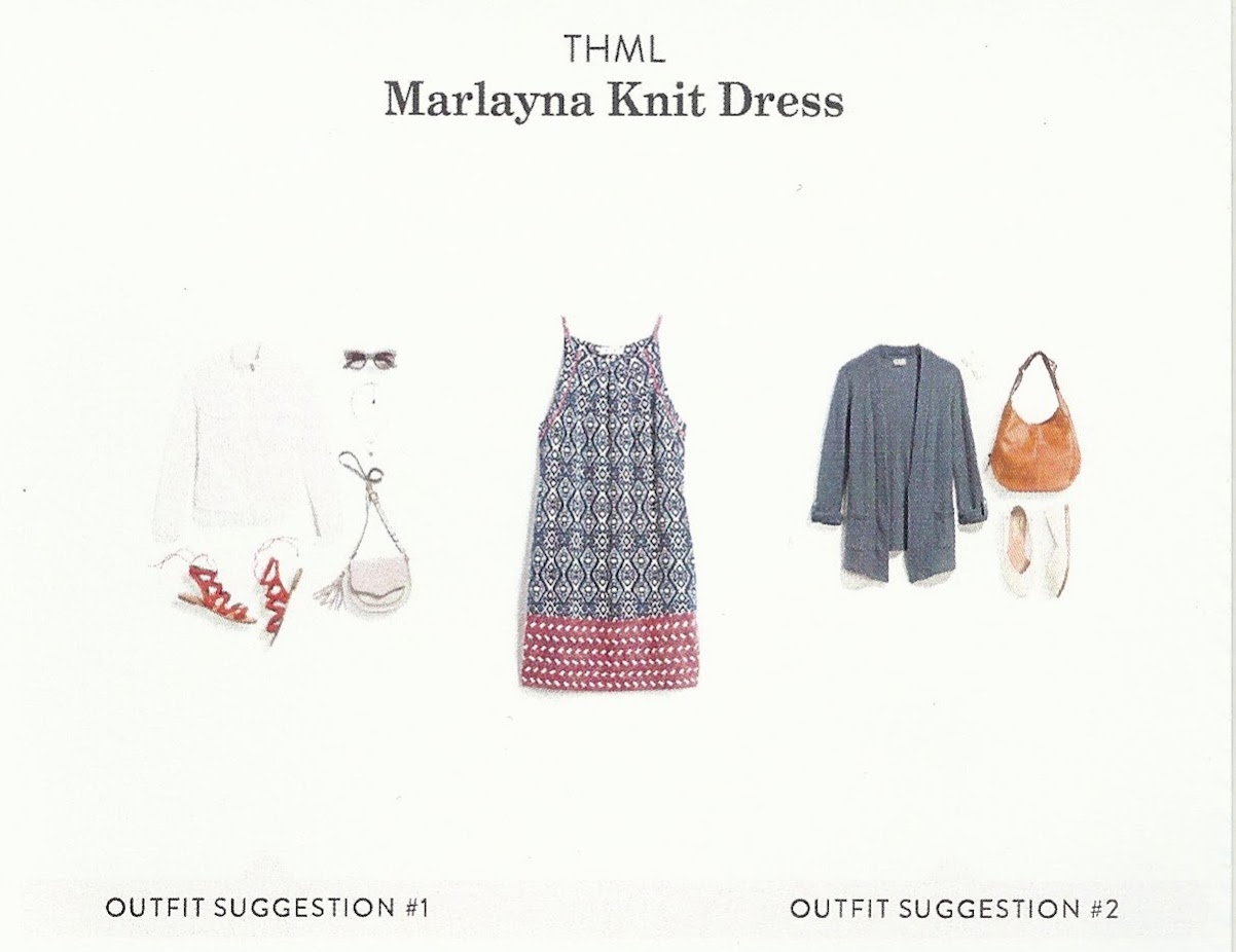 Fall 2017 Stitch Fix, THML Marlayna Knit Dress
