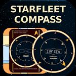 Starfleet LCARS Compass Icon