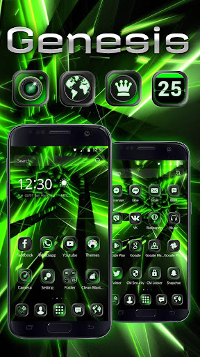 Genesis Green Tech Theme