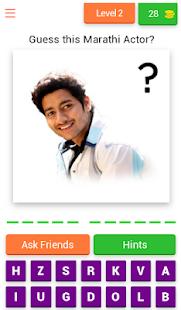 Guess Marathi Actors for PC-Windows 7,8,10 and Mac apk screenshot 3