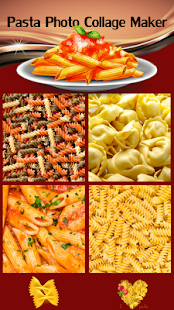 Pasta Photo Collage Maker - náhled
