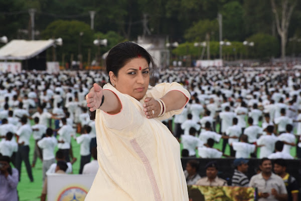 Smriti Irani's rise from soap star to union minister