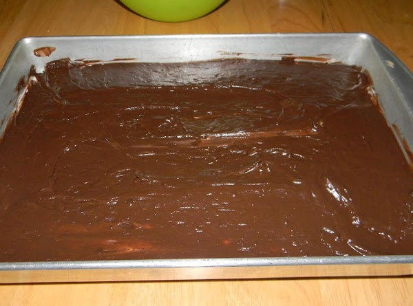 2nd Layer:Whisk the 5.9oz box of chocolate instant pudding with 1/2 of the milk...