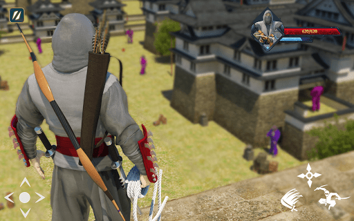 Super Ninja Kungfu Knight Samurai Shadow Battle  screenshots 9