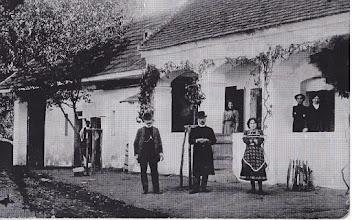 Photo: A parókia az 1910-es években, nt. Kiss Pál idejében