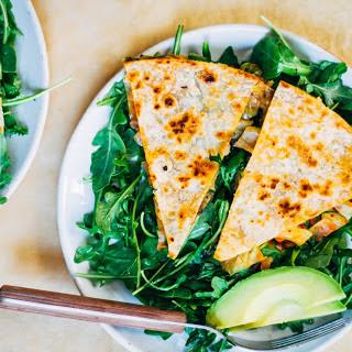 Kimchi Quesadillas [Vegan]