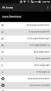 HTML Icons - náhled