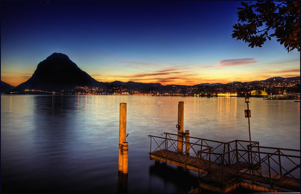 Lugano, Switzerland | Please take a large view! Lugano is a … | Flickr