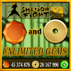 Gems and Gold For Shadow Fight 2 Prank : unlimited