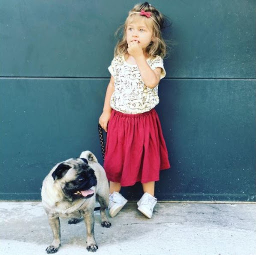mini-look fille boho chic