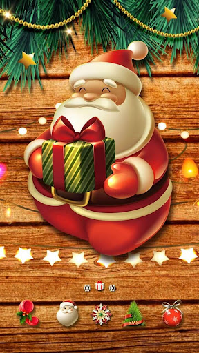 Merry Christmas Go Launcher Theme screenshot 3
