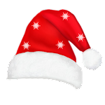 Hat Santa Claus photo montage