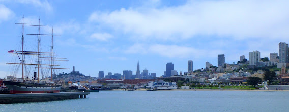 Photo: Panorama from jetty opposite Ghirardelli Square