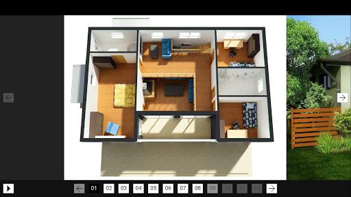 3Dモデルのホーム