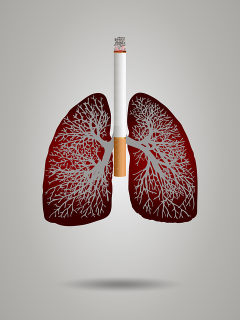 Cigarette smoking affects the lungs.