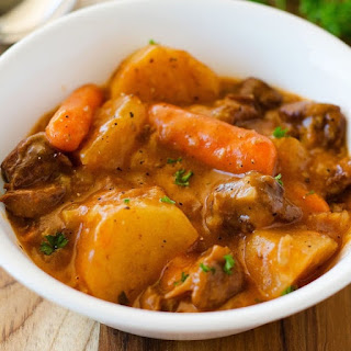 Crock Pot Basic Beef Stew.